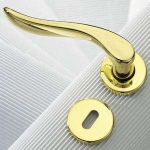 Дверные ручки для межкомнатных дверей: покрытия